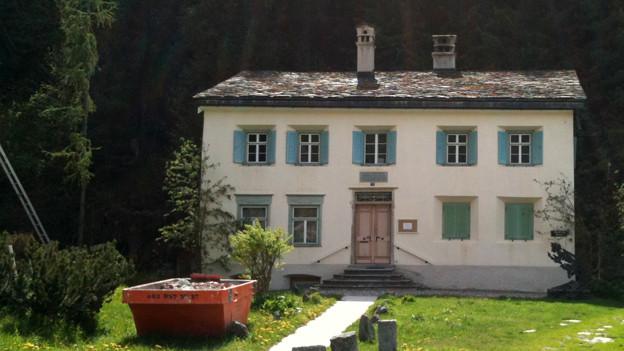 Das Nietzsche-Haus in Sils im Engadin.