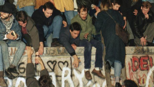 Berliner Mauerfall 1989