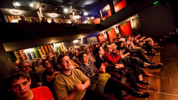 Ohrfeigen - Die Live-Radioshow: Gute Stimmung im Publikum.