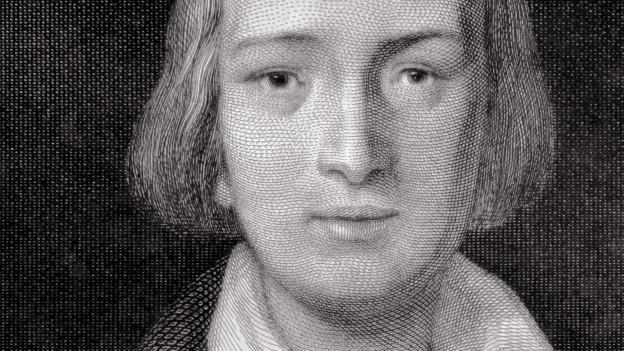 Ein Portrait von Heinrich Heine.