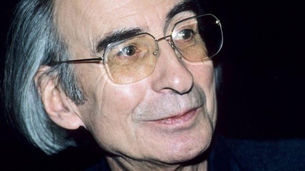 Porträt Peter Rühmkorf
