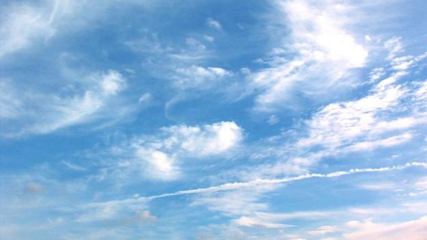 Bewegter Wolkenhimmel.