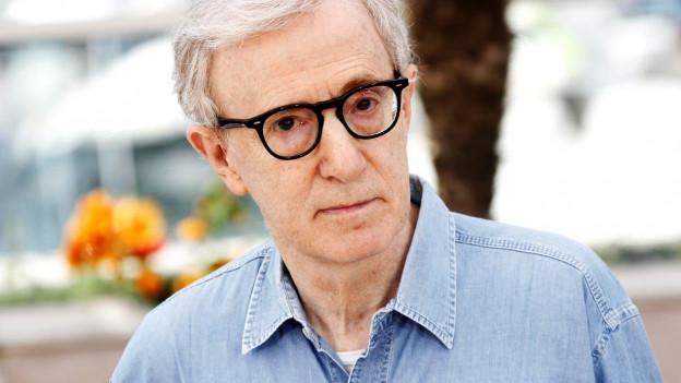Porträt von Woody Allen.