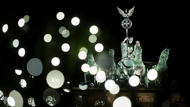 Am Pariser Platz in Berlin.