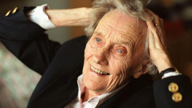 Astrid Lindgren feierte 1997 ihren 90. Geburtstag.