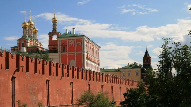Zentrum des sowjetischen Machtapparats: der Kreml.