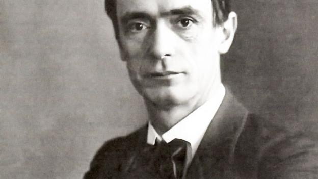 Porträt vom Reformpädagogen Rudolf Steiner