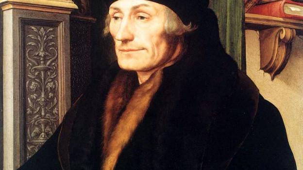 Porträt von Erasmus von Rotterdam