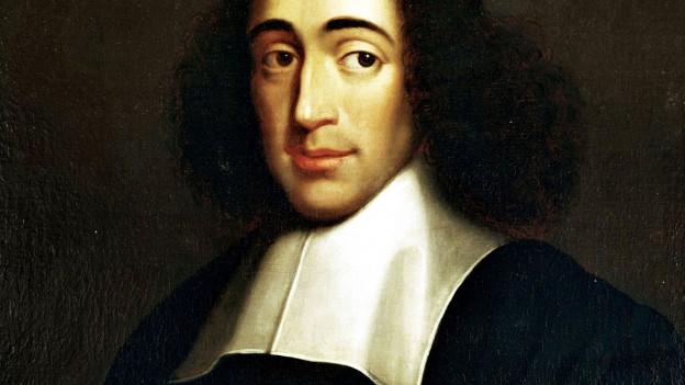 Porträt des Philosophen Baruch Spinoza.
