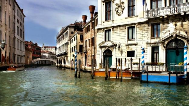 Schauplatz des Krimis: Venedig.