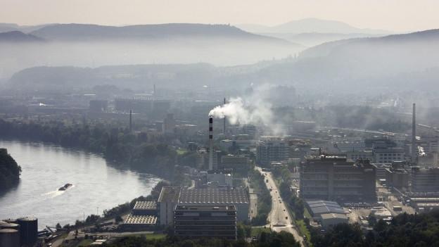 Könnte Schauplatz des Hörspiels sein: Das Basler Industriegebiet.