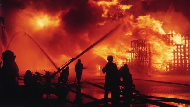 In der Nacht auf den 1. November 1986 brach in einer Fabrikationshalle der Chemiefabrik von Sandoz ein Brand aus.
