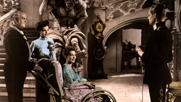 Bild einer Filmszene aus «Ungeduld des Herzens» im Jahr 1946