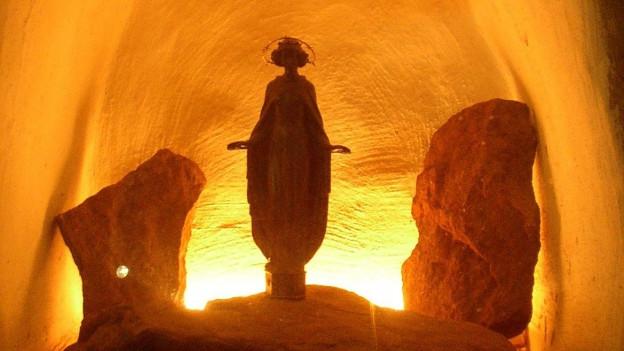 Schutzpatronin im Bergbau: die heilige Barbara