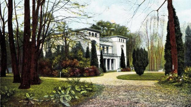 Bild eines Herrschafthauses.