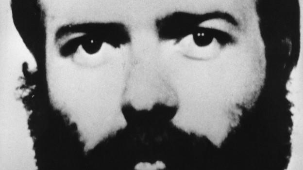 Schwarzweiss Foto der Augenpartie von Philip S.