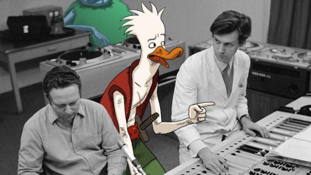 Tapfer und tollpatschig zugleich, der Held der Geschichte: Herbert, die Ente.