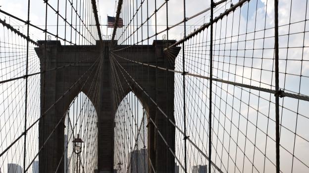 Brooklyn-Bridge in New York