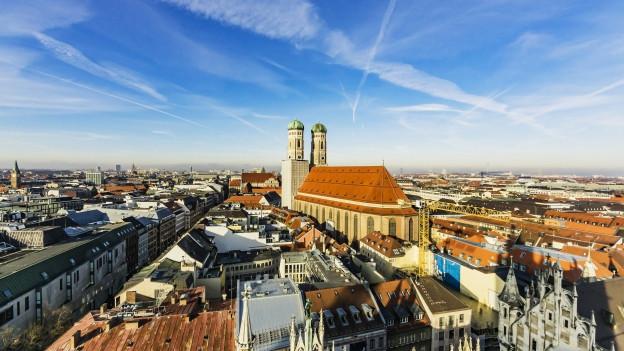 Stadtbild von München