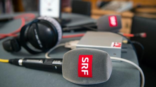 Foto von einem Radio-Mikrofon