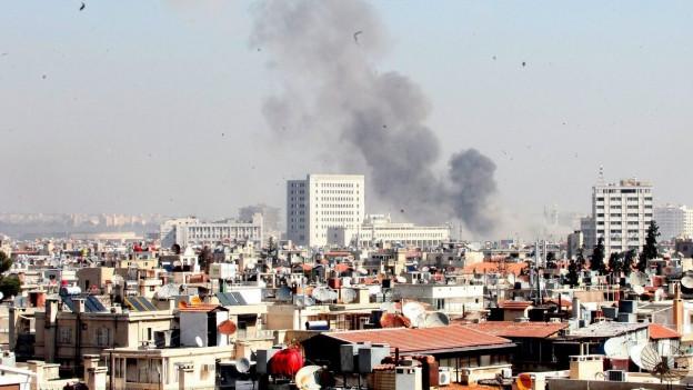 Sicht auf Damaskus