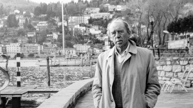 Portrait von Heinrich Böll in Ascona