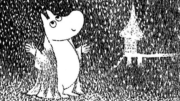 Buchcover «Winter im Muminland»