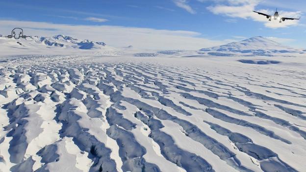 «Kilroy was here»: Antarktis.