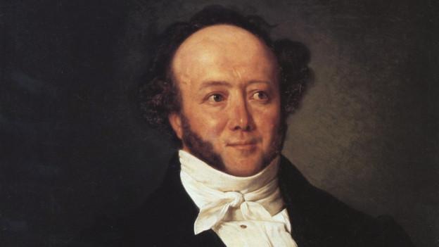 Jeremias Gotthelf (gemalt von Johann Friedrich Dietler (um 1844))