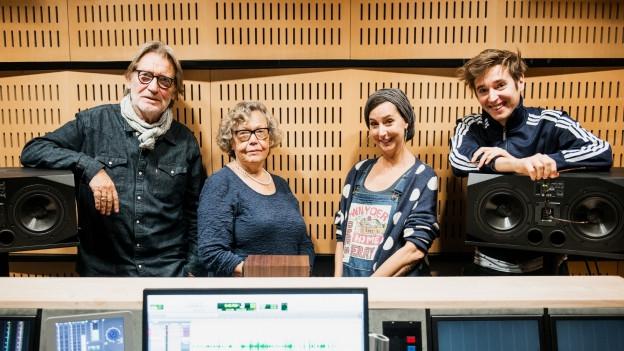 Matthias Habich (Arthur), Nikola Weisse (Madeleine), Karin Berri (Regie), Mario Fuchs (Jack)