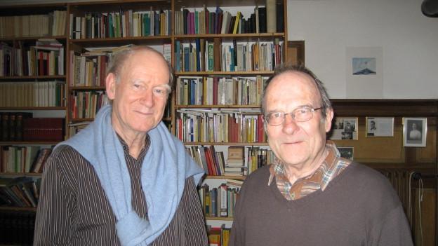 Franz Hohler und Jürg Schubiger.