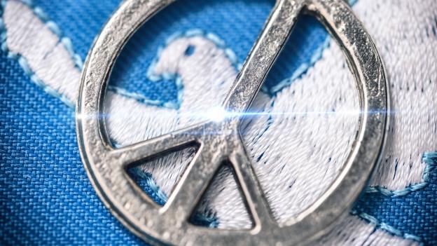 Friedenstaube und -Symbol