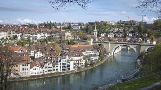 Blick auf Bern, Schauplatz von «Die Eisprinzessin»