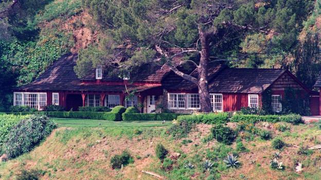 Schauplatz des Verbrechens von 1969: Das Canyon Benedict Estate wurde 1997 abgerissen.