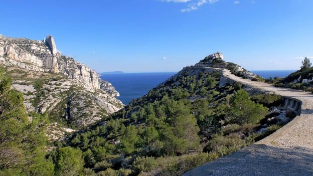Massif de Calanque zwischen Marseille und Cassis.
