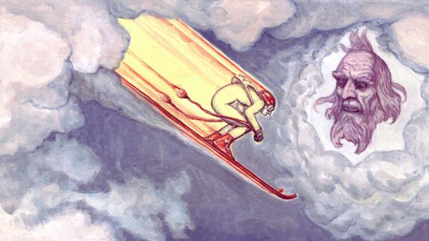 Illustration «Der Tag, an dem es 449 Franz Klammers regnete»