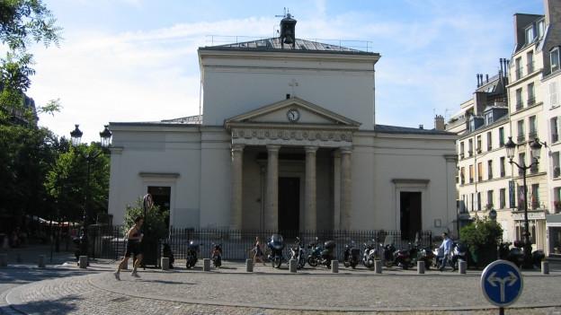 Die Kirche Sainte-Marie des Batignolles in Paris.