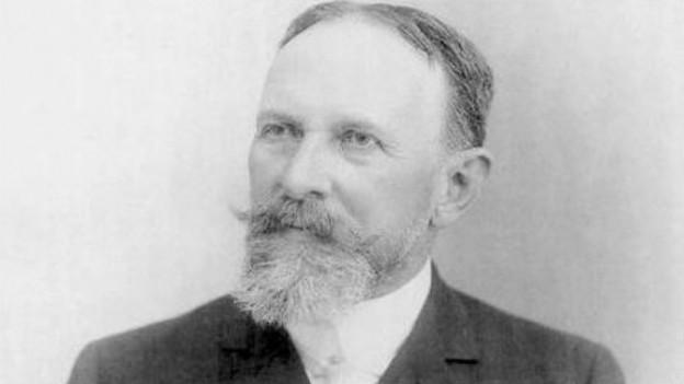 Carl Spitteler um 1905.