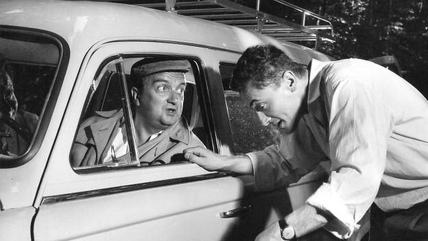 Szenenbild aus der «Paul Cox»-Staffel von 1959.