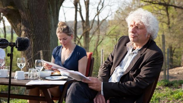 Tanja Wedhorn (Linda) und Udo Wachtveitl (Meiler).