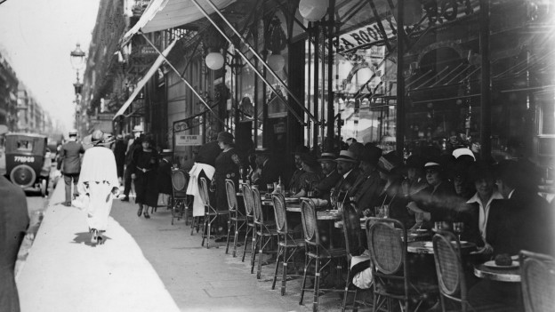 Das Paris der 30er Jahre.