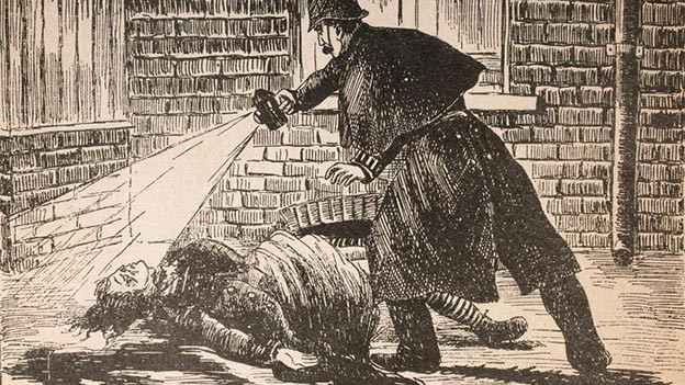 The Police Illustrated: Finding the mutilated body in Mytre Street.