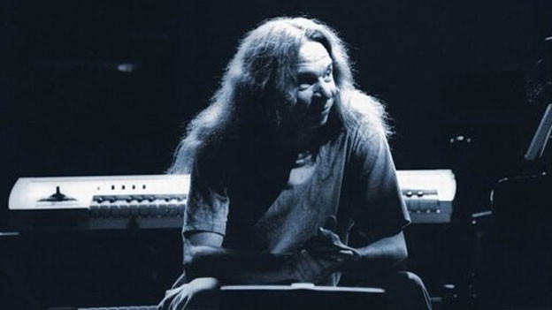 Der Pianist, Keyboarder und Komponist, Lyle Mays.