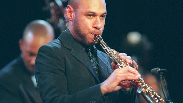 Der Saxofonist Joshua Redman am Jazzfestival Bern, 2000.