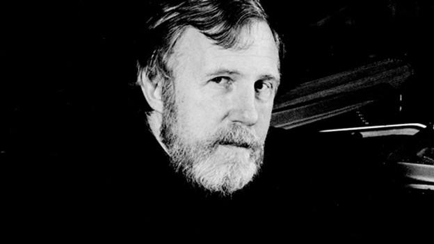 Blake im Schwarz-Weiss-Porträt.