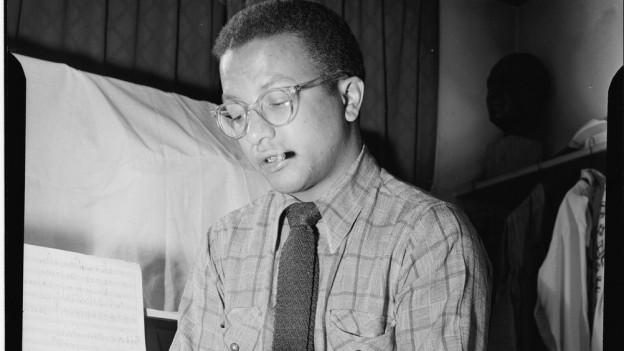 Billy Strayhorn auf einer Aufnahme zwischen 1946 und 1948