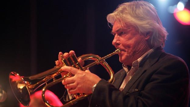 Manfred Schoof ist einer der Gründungsväter des Free Jazz.