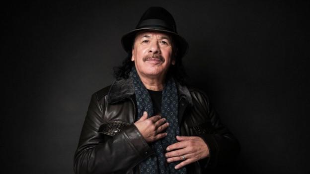 Porträt von Carlos Santana