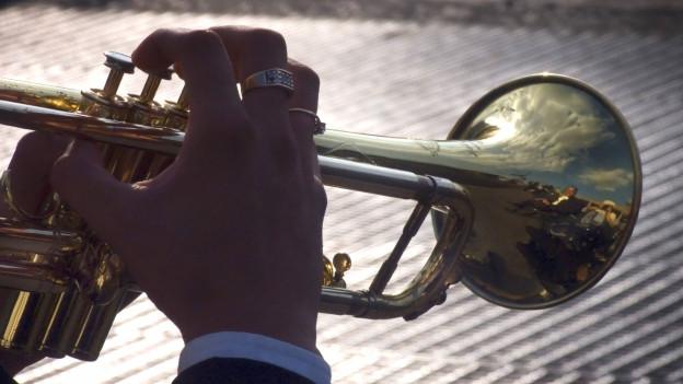Symbolbild von einem Trompeter