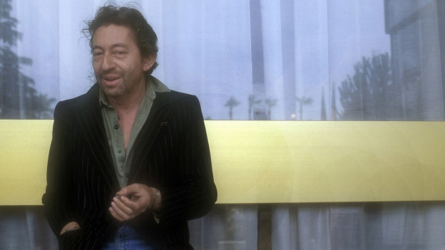 Portrait von Serge Gainsbourg